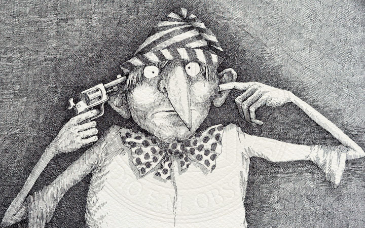 Silent Cartoon © Michal Obszarski